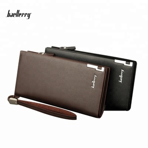 Baellerry New Arrival High Quality Brand Men Leather Wallet Wholesale