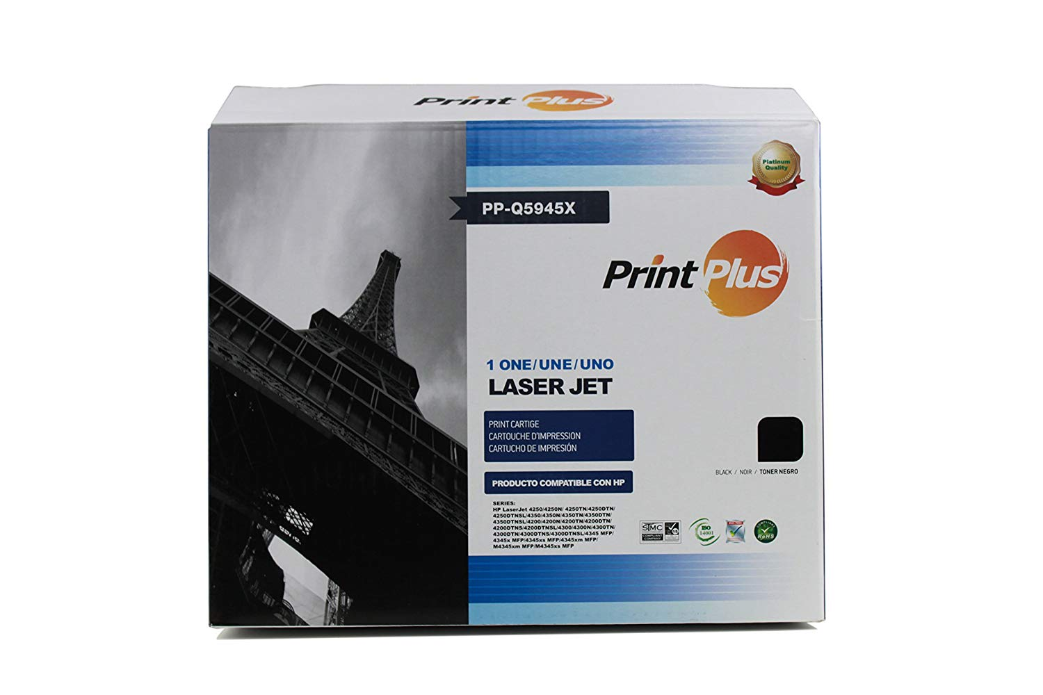 Cheap M4345x Mfp Find Deals On Line At Alibabacom Block Diagram Hpljmfpm9040m9050 Get Quotations High Yield New Compatible Hp Q5945x 45x Premium Black Replacement Toner Cartridge For Laserjet