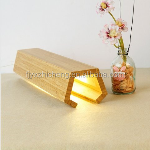 Home Bamboo Table Desk Lampshade