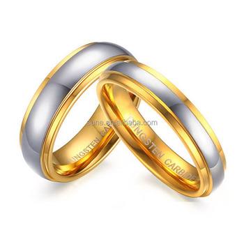 a71347303722 Venta Caliente En Ghana 18 K Oro Parejas Aniversario Regalos Tungsteno  Venda De Boda Del Anillo Para Los Amantes Mujeres Alianzas De Matrimonio -  Buy ...