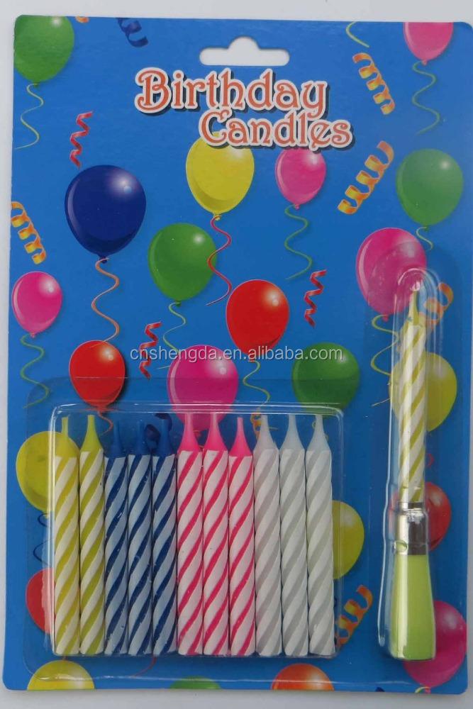 Happy Birthday Music Cake Candles Factory Price
