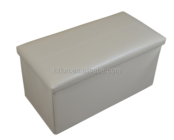 Hottest Home Bench Storage Ottoman Stool