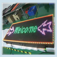 Outdoor led billboards for sale moving message no smoking led sign