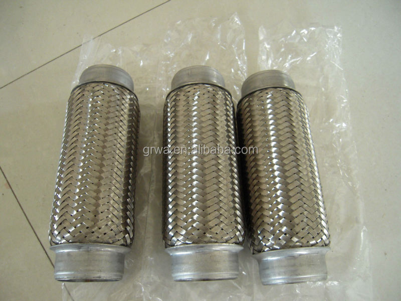 Stainless steel exhaust corrugated flexible pipe