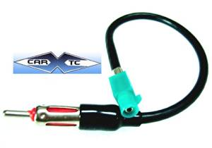 Stereo ANTENNA Harness VW Passat Double Din 02 2002 AFTERMARKET STEREO / RADIO ANTENNA ADAPTOR - PLUGS INTO AFTERMARKET STEREOS AND CONNECTS INTO FACTORY ANTENNA