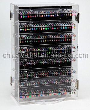 Acrylic Body Piercing Jewelry Display Stand Body Jewelrys