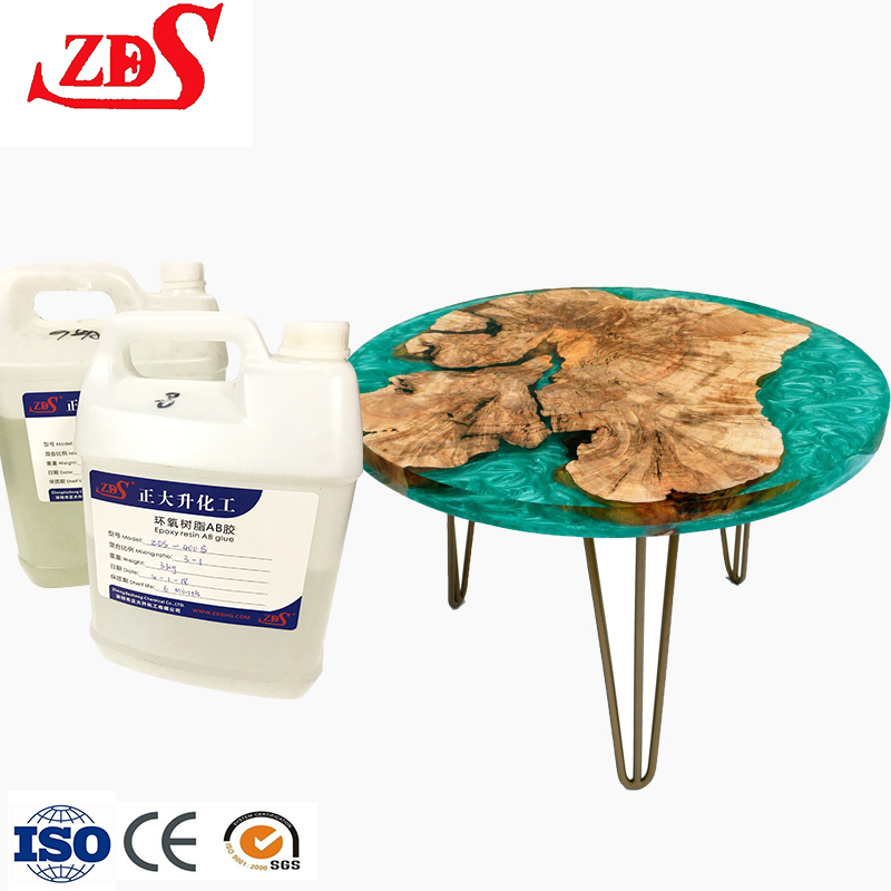 countertop epoxy ab resin/liquid epoxy resin ab <strong>glue</strong> for epoxy resin console table/clear resin art