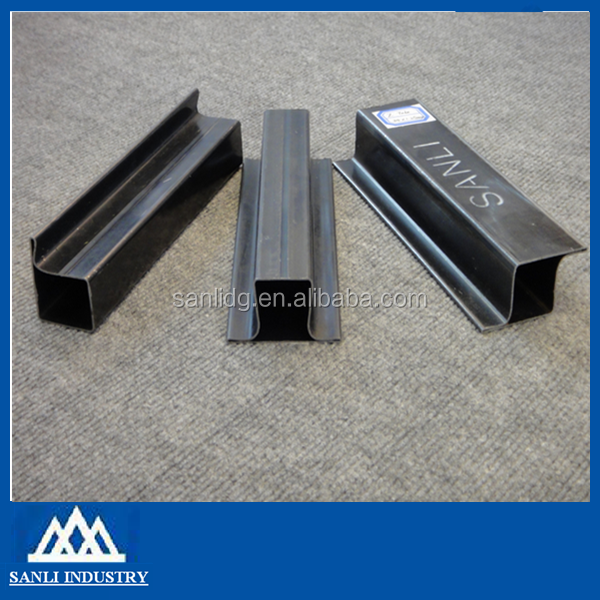 cold rolled black LTZ profile steel section hollow tubes from china