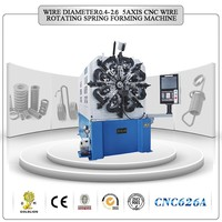 CNC626A CNC Wire Rotating Spring Forming Machine