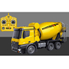 2019newly Big 1:14th 10ch Concrete mixer truck Engineering car HuiNa 1574 Construction truck