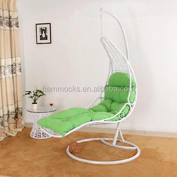 Egg Chair Met Standaard.Outdoor Swing Egg Chair Schommel Rotan Opknoping Egg Chair Indoor