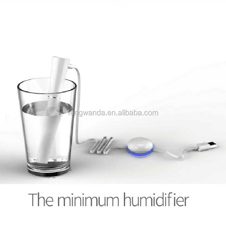 FWD new wire controller humdifier, usb mini humidifier Water Fairy