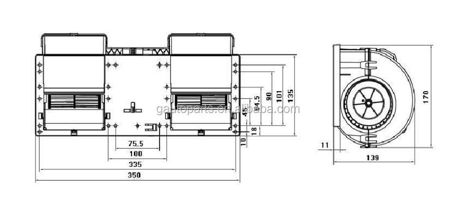 24v Brushless Dc Motor Fan Ventilation Fan Buy Brushless