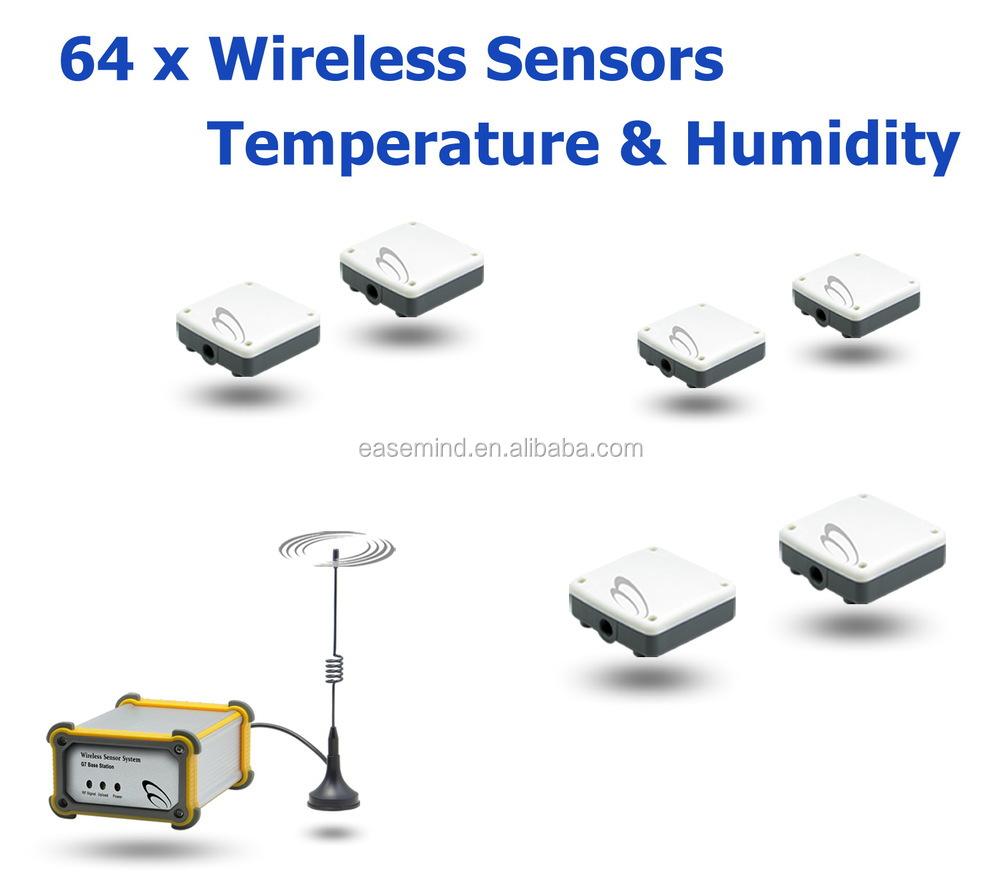 Wireless Temperature Sensor System Temperature Rf Sensor Rs232 ...