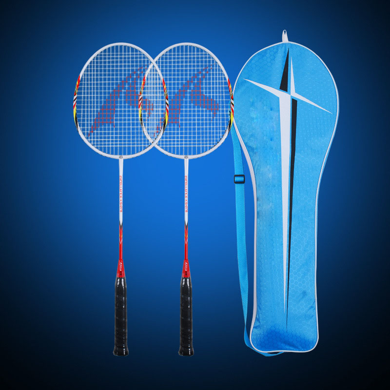 Hot Koop Custom Ijzer Legering Badminton Racket