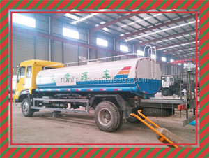 10 Wheel Sinotruck Brand 4*2 Stainless steel water spray tank truck for sale
