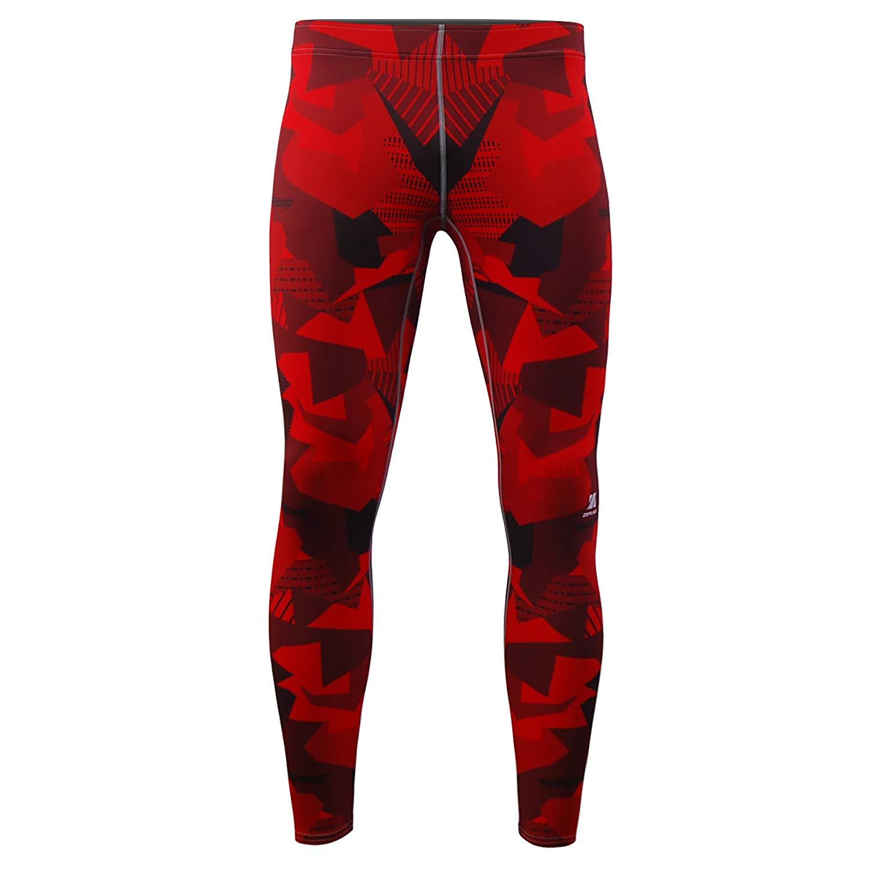 4c8893e35f4cd8 zipravs Men's Compression Jogging MMA Jiu Jitsu Workout Long Tight Pants  Leggings