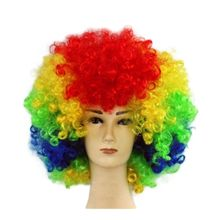 Afro Cosplay Bouclés <span class=keywords><strong>Clown</strong></span> Fête 70 s Disco Cosplay Perruque Perruque de <span class=keywords><strong>Clown</strong></span> SH0457