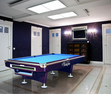 Manufacturing billiard and pool table