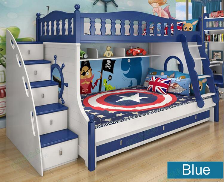 Kids Double Deck Bed Children Bunk Bed For Sale Double Bed