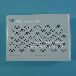 English version ZXA10 F600 V5 ONU ZTE With 2GE+2FE lan port