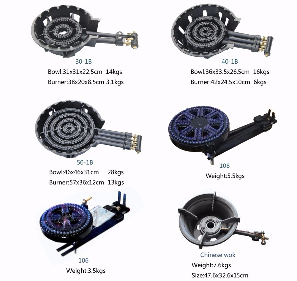 Oem Service Clay Sand Cast Iron Gas Stove Burner Spare Parts - Buy ...