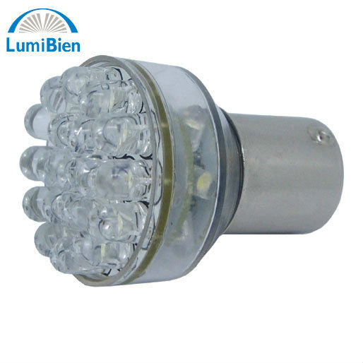 24LED S25 BY15S/BAY15D 1156/1157 Car Bulbs with 24 LED Each for Stop Lights 12V LEDs Auto lamp Tail/Brake/Indicator Lights