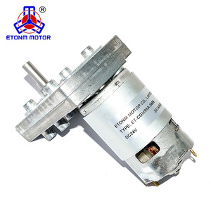 12V 24VDC 5-20RPM 50-100kg.cm high torque low speed gear reduction offer good gear motor price