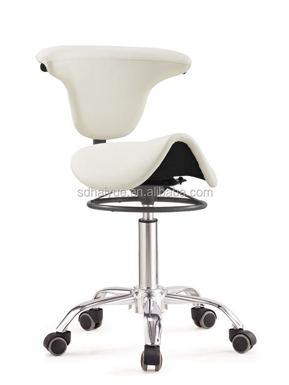 Bureaustoel Zonder Rugleuning.Hot Koop Ergonomisch Zadel Seat Stoel Swivel Zadel Workshop Stoel