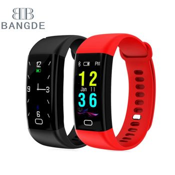 New Product Fitness Tracker Sports Smart Bracelet With Heart Rate Monitor Blood Pressure Monitor 2018
