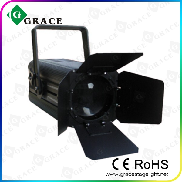 RGBW 180w led fresnel spot light for studio shooting led light bar