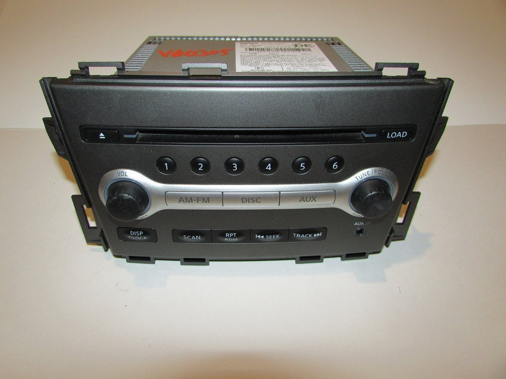 Get Quotations 11 14 Nissan Murano Radio CD Player 6 Disc Changer Aux Port TESTED