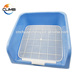 Direct Factory Supplier Dogs Puppy Potty Training Plastic PP Mobile Portable Indoor Toilet for Male Dog