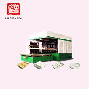 Disposable Biodegradable Paper Fiber Plate Machine sugarcane pulp plate machine
