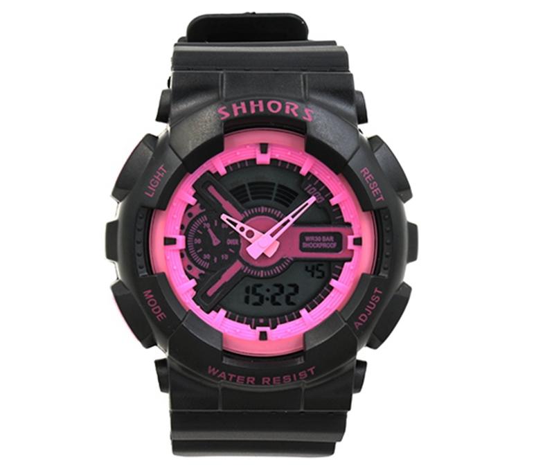 9bf0d05667f Get Quotations · Original Shhors New Arrival 2015 Silicon Rubber Calendar  Stop Digital Watch timer Wristwatch water resistant Men