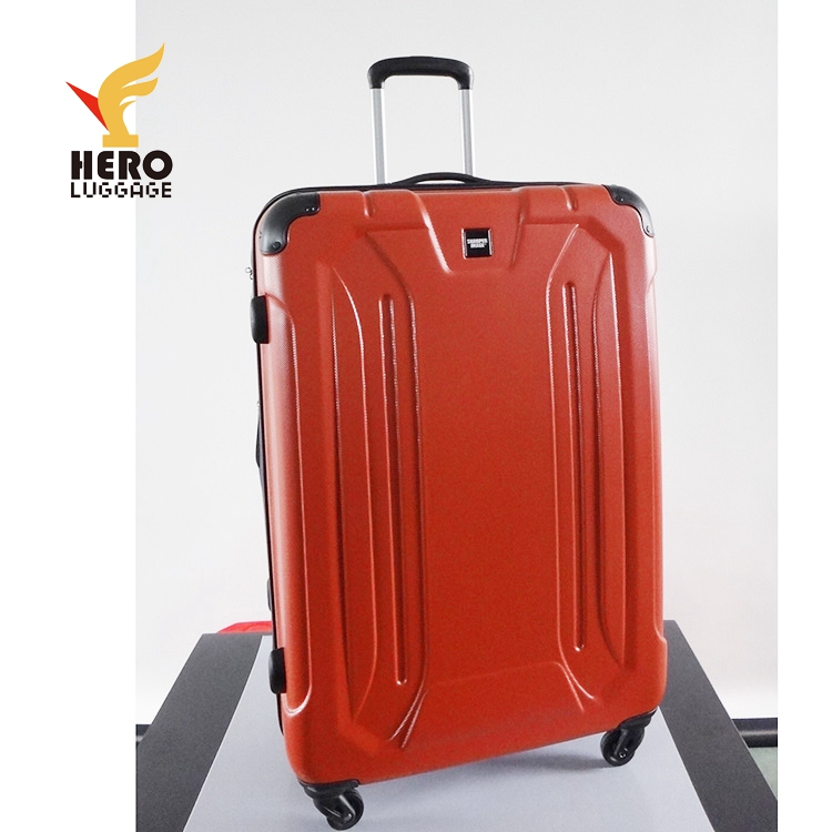 Zipper Plastic Large Hardside Zhejiang Lady Deal On Luggage Trolley Abs Set