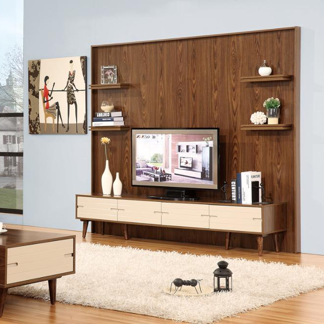 New Model Tv Cabinet With Showcase Tunit Design For Hall Living Room Furniture Designs Wall
