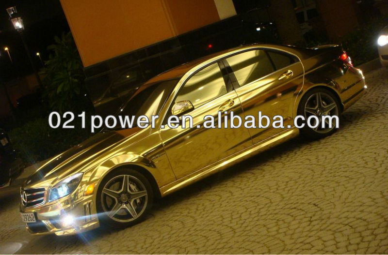 Gold Window Tint Colors