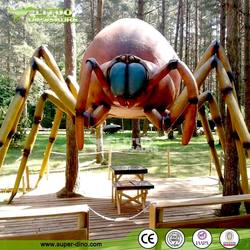 Animatronics insect exhibition playground spider models