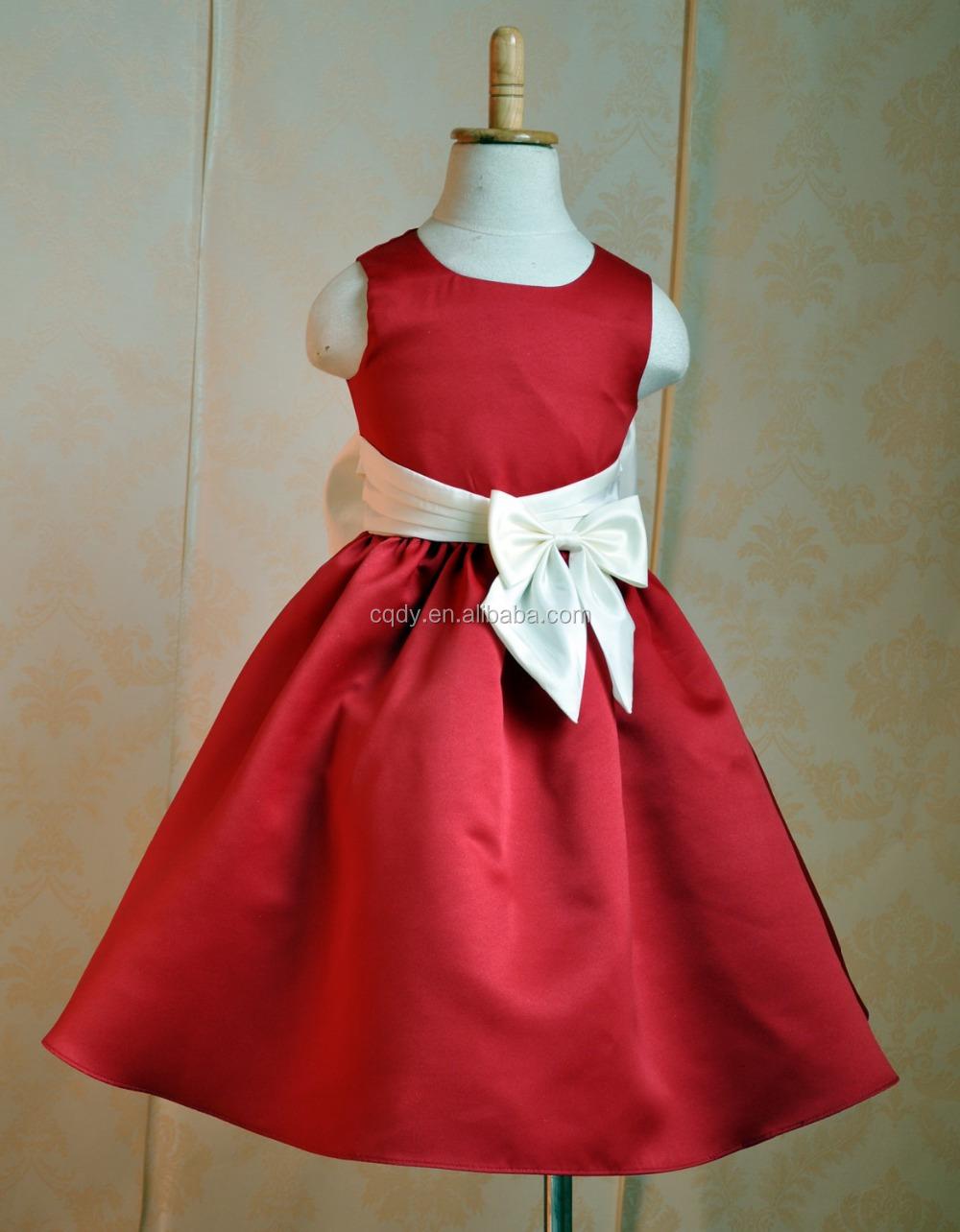 Vestidos de fiesta rojos de nina