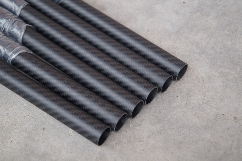 Carbon fiber fabric 3K twill matte carbon fiber tube