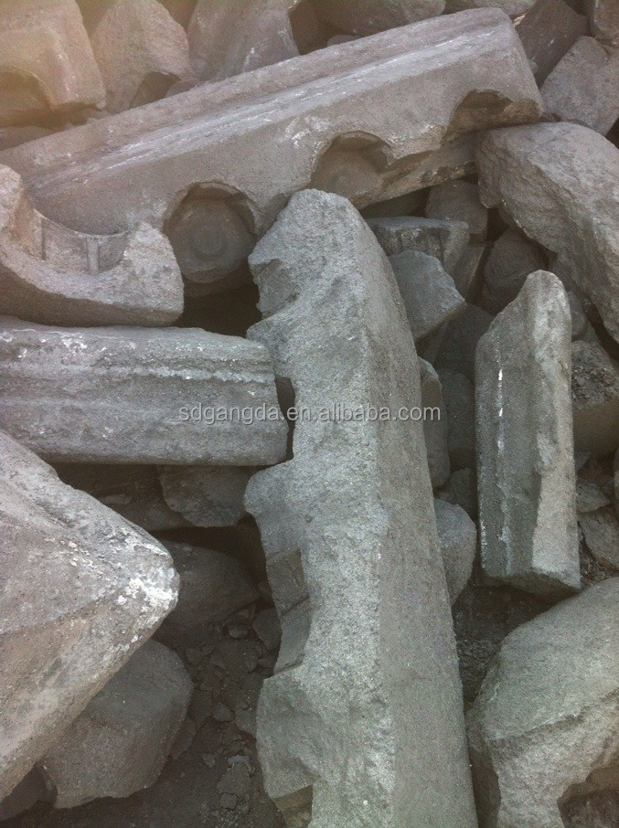 Strong Electrical Conductivity Aluminium Prebaked Carbon Block Anode Scrap