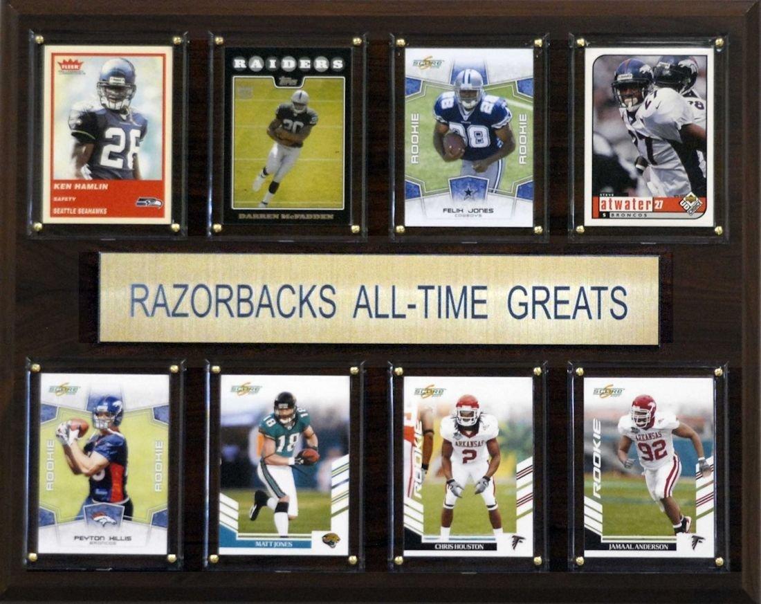"Arkansas Razorbacks All Time Greats 12""x15"" Plaque"