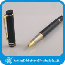 Customized branded classic design pen with logo/metal roller gel pen