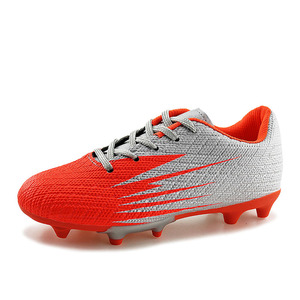 Professional Kids athletic outdoor shoes boys spike soccer shoes