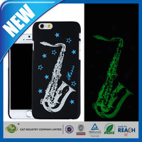 C&T Popular universal noctilucent style hard pc cell phone case cover for iphone 6 plus