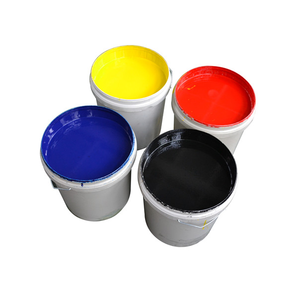 2014 High temperature resistant water based pigment white ink for art paper