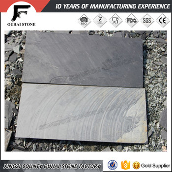 Surface Raw Material Black Stone Tiles