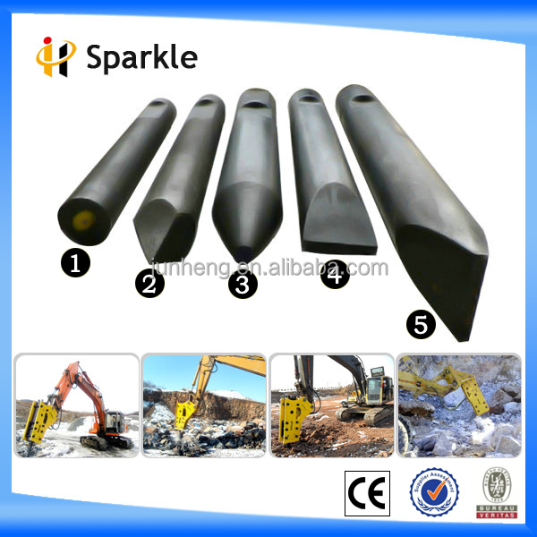 Hydraulic rock breakers chisel tool,breaker drill rod