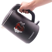 1500W Cordless Plastic Electric Cooker Water Kettle